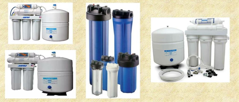 Types of Water Filters for Home
